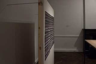 Lydia Debeer, installation at the exhibtion of 'The Empty Foxhole'